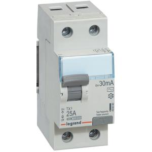 Выключатель дифференциального тока TX 2П 25 А тип AC 30 мА (УЗО)