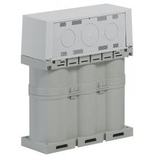 Вакуумированный конденсатор Alpivar2 400 В с крышкой 10 квар