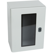 Щит Marina из полиэстера стекл. дверь - IP 66 RAL 7035 - 1220x810x300 мм