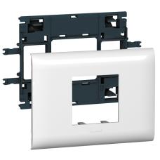 Суппорт Mosaic для кабель-каналов DLP с шириной крышки 85 мм 2 модуля