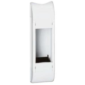 Пустой розеточный блок для комплектования 4 модуля длина 215 мм белый