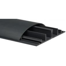 Напольный кабель-канал 4 секции 92x20 серый