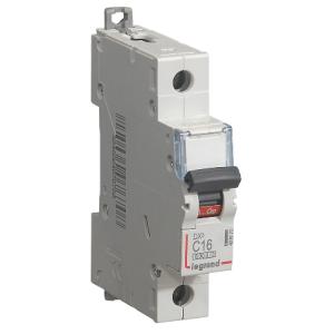 Автоматический выключатель DX3 1П C1A 6000/10kA
