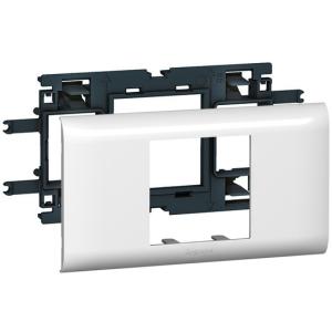 Суппорт Mosaic для кабель-каналов DLP с шириной крышки 65 мм 2 мод