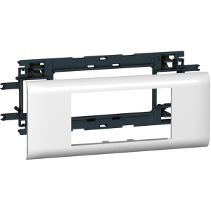 Суппорт Mosaic для кабель-каналов DLP с шириной крышки 65 мм 4 мод