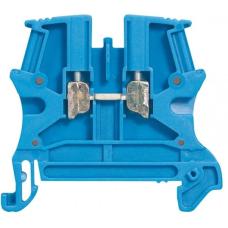Винтовая клемма 2,5х5 Viking 3 - 1 вход/1 выход синий