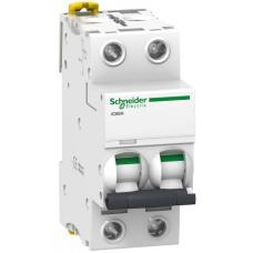 Автоматический выключатель iC60N 2П 2A C