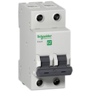 Автоматический выключатель EASY 9 2П 10А С 4,5кА 230В