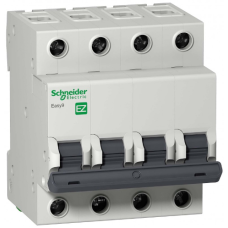 Автоматический выключатель EASY 9 4П 50А С 4,5кА 400В