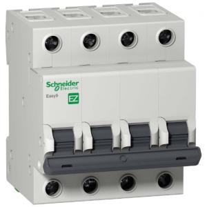 Автоматический выключатель EASY 9 4П 10А С 4,5кА 400В