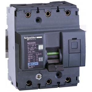 Автоматический выключатель  NG125N 3П 100A C