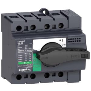 Выключатель-разъеденитель INS100 3П