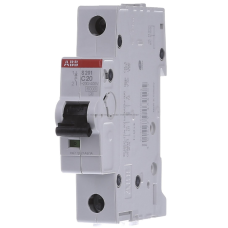 Автоматический выключатель 1-пол. S201 C10