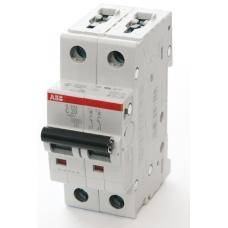 Автоматический выключатель 2-пол. S202 C4