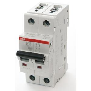 Автоматический выключатель 2-пол. S202 C10