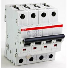 Автоматический выключатель 4-пол. S204 C16