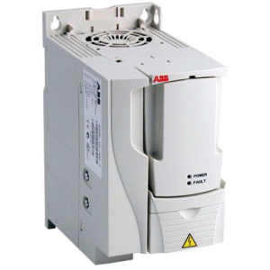 Преобразователь частоты ACS355-01E-02A4-2, 0.37 кВт, 220В, IP20, без панели