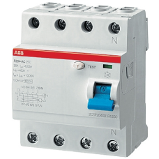 Выключатель диф.тока 4мод. F204 AC-25/0,3