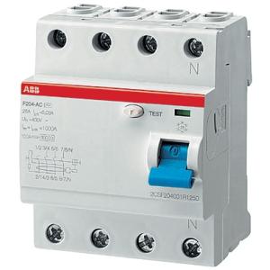 Выключатель диф.тока 4мод. F204 AC-25/0,03