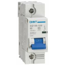 Автоматический Выключатель DZ158 1P 125A 10kA х-ка (8-12In) | ✔️CHINT