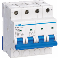 Автоматический Выключатель пос.тока NB1-63DC 2P C10A DC500В 6kA | ✔️CHINT