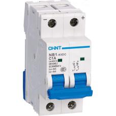 Автоматический Выключатель пос.тока NB1-63DC 1P C6A DC250В 6kA | ✔️CHINT