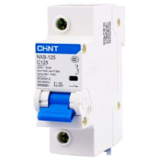 Автоматический Выключатель NXB-125G 1P 63A 10кА х-ка C | ✔️CHINT