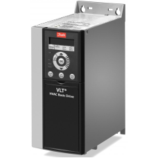 Преобразователь частоты Danfoss VLT HVAC Basic Drive FC 101 0.37кВт 380-480В IP20 FC-101PK37T4E20H4