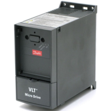Преобразователь частоты Danfoss VLT Micro Drive FC 51 0.37кВт 1х200-240В IP20 FC-051P0K37S2E20H3XXCXXXSXXX