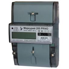 Счетчик 1-фазный многотарифный 5-60А Меркурий 206 N