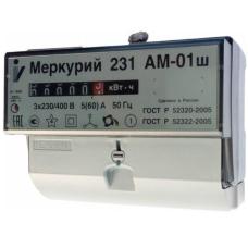 Счетчик 3-фазный 1-тарифный 5-60А Меркурий 231 АМ-01Ш