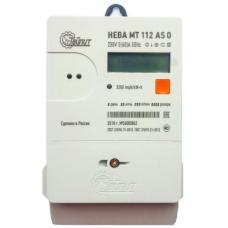 Счетчик 1-фазный многотарифный НЕВА МТ 112 AS O 5-60А
