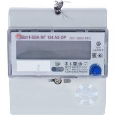 Счетчик 1-фазный многотарифный НЕВА МТ 124 AS E4P 5-60А