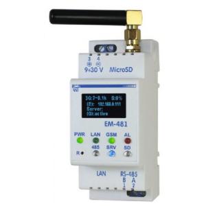 ЕМ-481 Контроллер WEB-доступа  интерфейса RS-485