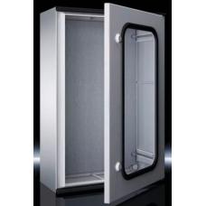 KS Пластиковый шкаф 400x400x200 с МП обзорная дверь артикул 1448500