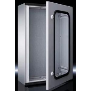KS Пластиковый шкаф 400x400x200 с МП обзорная дверь