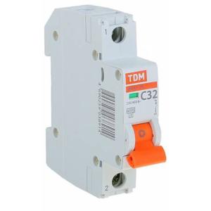 Автоматический Выключатель ВА47-29 1Р 0,5А 4,5кА кривая С