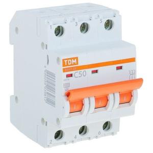 Автоматический Выключатель ВА47-29 3Р 10А 4,5кА кривая С