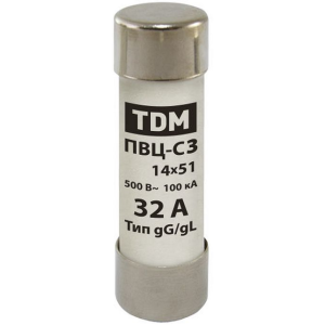 Плавкая вставка ПВЦ-В2 22х58 100А TDM