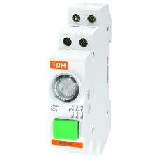 Выключатель кнопочный с индикацией ВКИ-47 крас (LED) 2НО;1НЗ