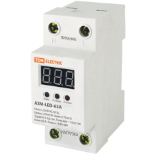 Реле контроля напряжения АЗМ LED-63А-220В