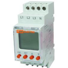 Реле контроля напряжения РН 12-3х400/230В (LCD 1нр+1нз-контакты)
