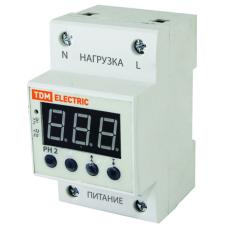 Реле контроля напряжения РН 2 40А-220В (LED-дисплей)