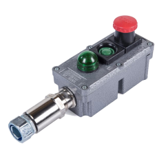 Посты управления взрывозащищенные кнопочные типа ПВК с индикацией